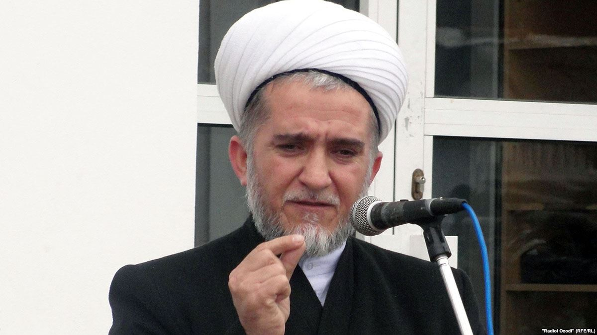 Глава Исламского центра Таджикистана Саидмукаррам Абдулкодирзада