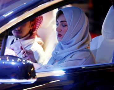 Саудовских автоледи уличили в пижонских замашках