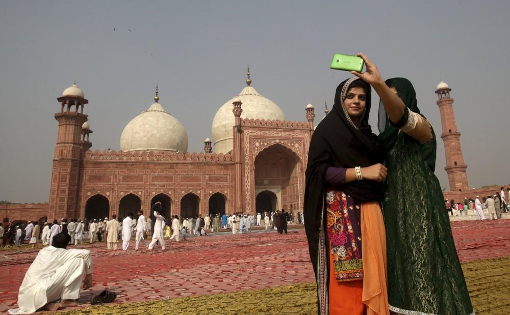 Жительницы Пакистана