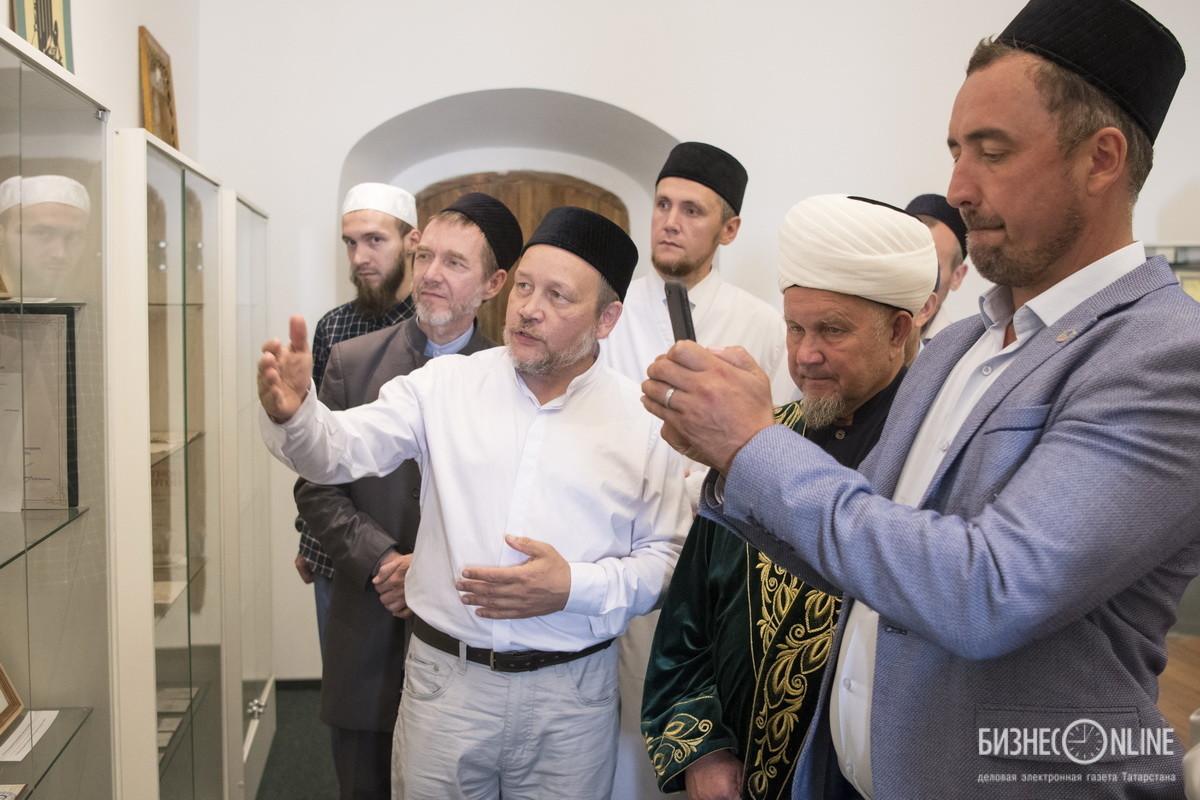 В мечети Казани открылся музей о погибшем мусульманском просветителе