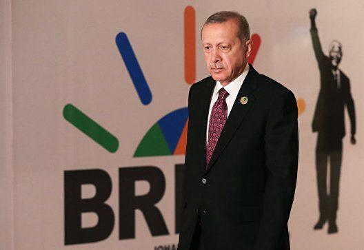 "Эрдоган предложил добавить букву ""Т"" в аббревиатуру БРИКС"
