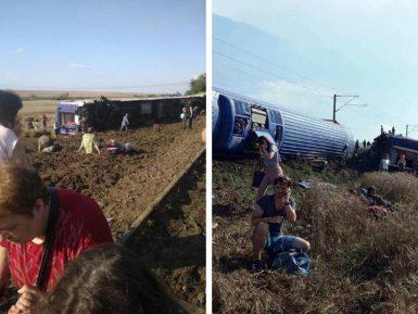 Жуткая авария с поездом в Турции унесла десятки жизней
