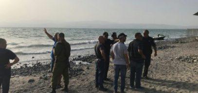 В Израиле туристы содрогнулись при виде сирийских ракет