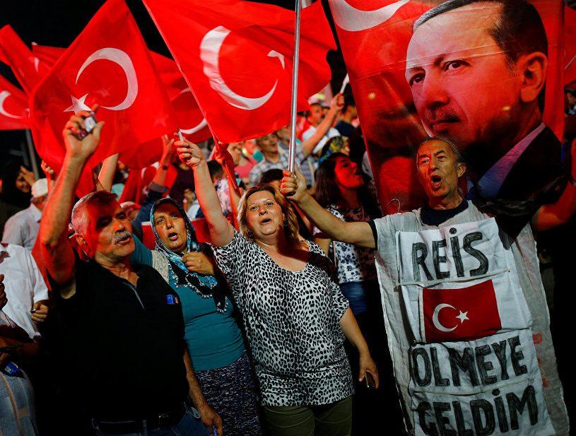 В Турции массово осуждены несостоявшиеся свергатели Эрдогана