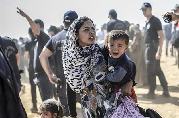 Президент произнес пламенную речь в защиту беженцев-мусульман