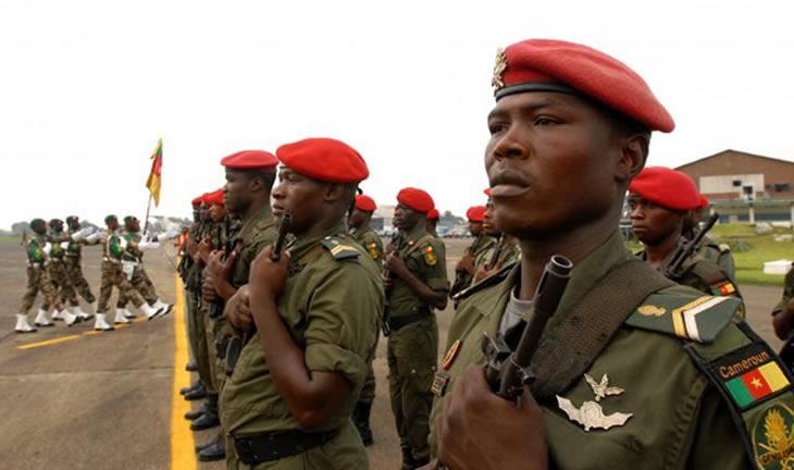 Военнослужащие Камеруна