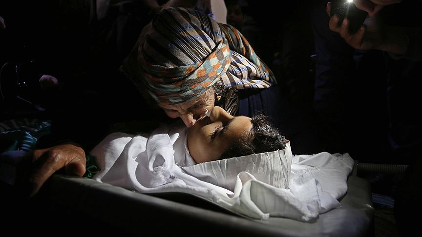 Жертва израильского снайпера