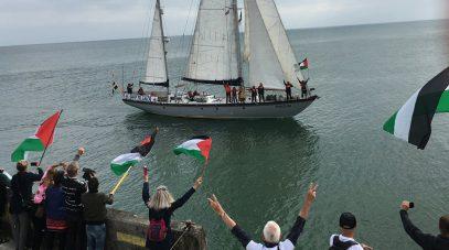 Израильские силовики напали на судно с гуманитарным грузом медикаментов для Палестины