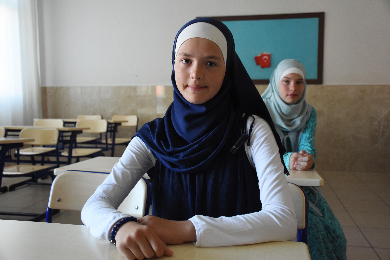Русская девочка произвела фурор в турецком лицее