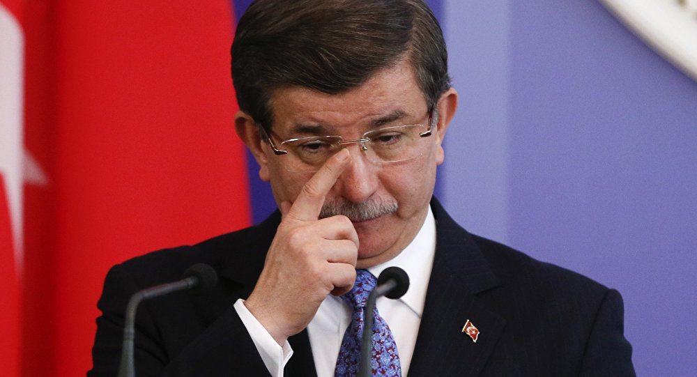 Бывший премьер-министр Турции Ахмет Давутоглу