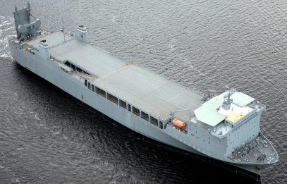Американский корабль с химикатами внезапно прибыл на Ближний Восток