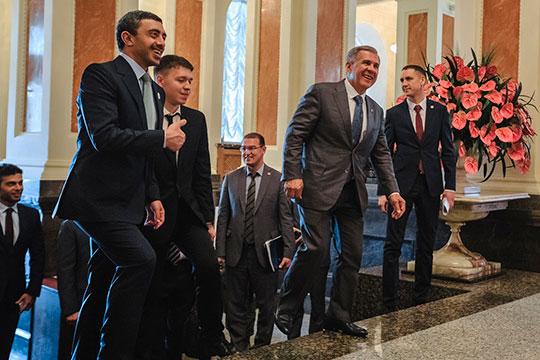 Арабский гость остался довольным поездкой в Татарстан. Фото: БИЗНЕС Online