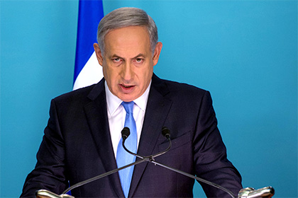 Премьер Израиля Биньямин Нетаньяху