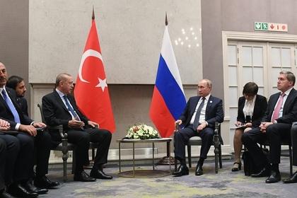 Встреча Эрдогана и Путина в Йоханнесбурге. Фото: РИА Новости