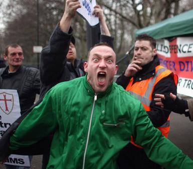 Реакция горожан на злобных исламофобов не заставила долго ждать