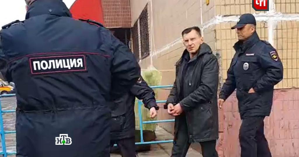 Задержание москвича Царева