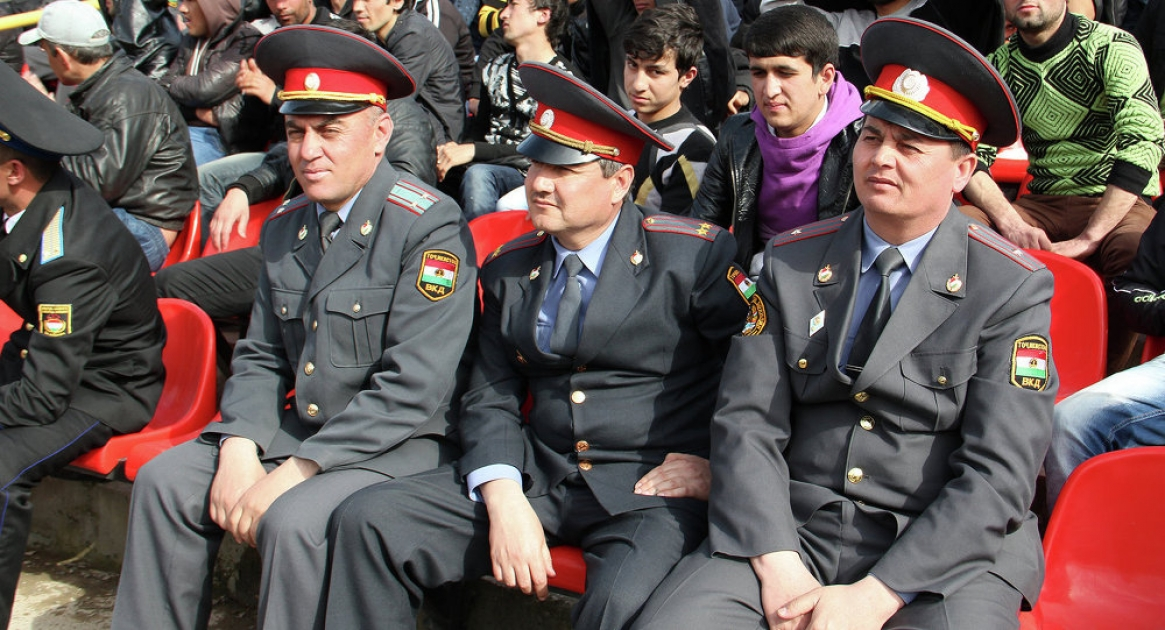 Милиция в Таджикистане