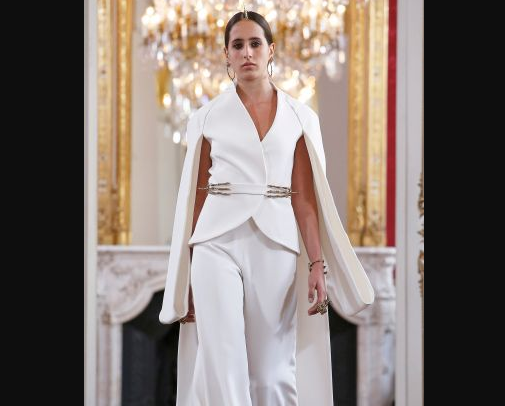 Впервые на парижском подиуме – саудовская супермодель