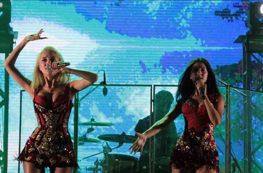 Гламурная группа «ВИА Гра» выступила в Турции