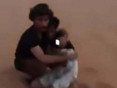 Находка молодых саудовцев посреди огромной пустыни впечатлила соцсети (ВИДЕО)