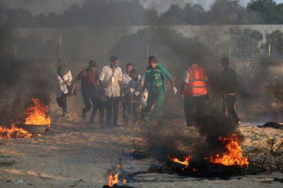 Израильские силовики расстреляли протестующих в Газе, свыше 200 ранены или погибли