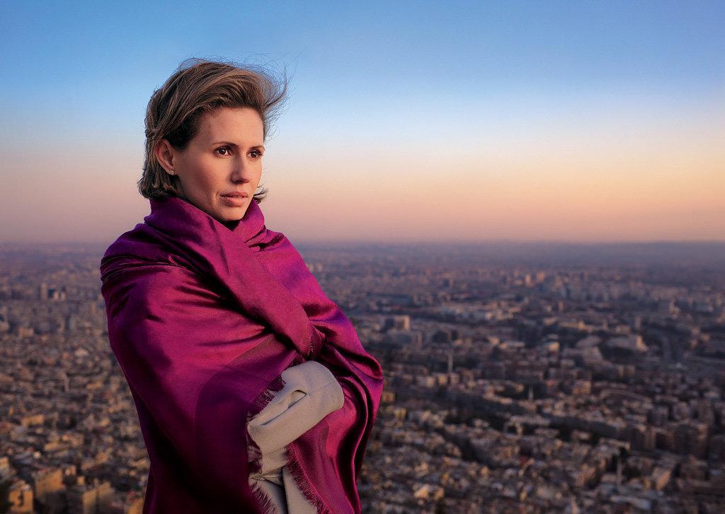 Заболевшая раком супруга Асада обратилась к сирийцам