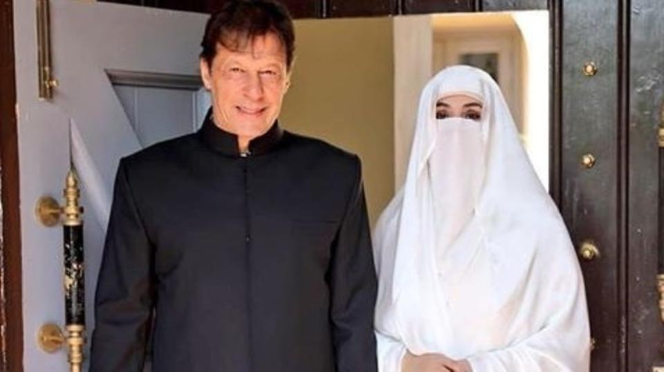 Имран Хан с супругой