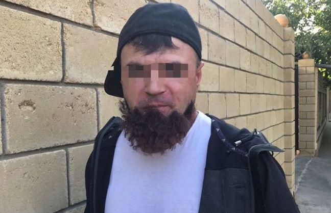 В Одессе задержан киллер, у которого отклеилась мусульманская борода