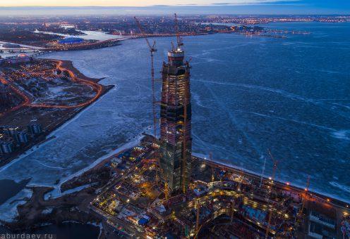 Российский небоскреб утёр нос Бурдж-Халифе