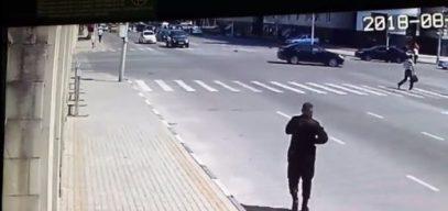 Опубликованы кадры с мест нападения подростков на полицейских в Чечне