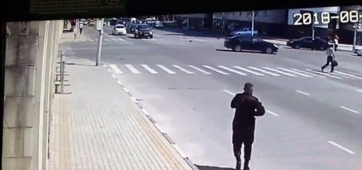 Видео нападения