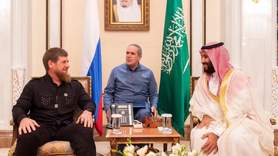 Наследный принц пригласил главу Чечни во дворец
