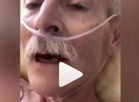 Старый немец произносит шахаду за мгновения до смерти (ВИДЕО)