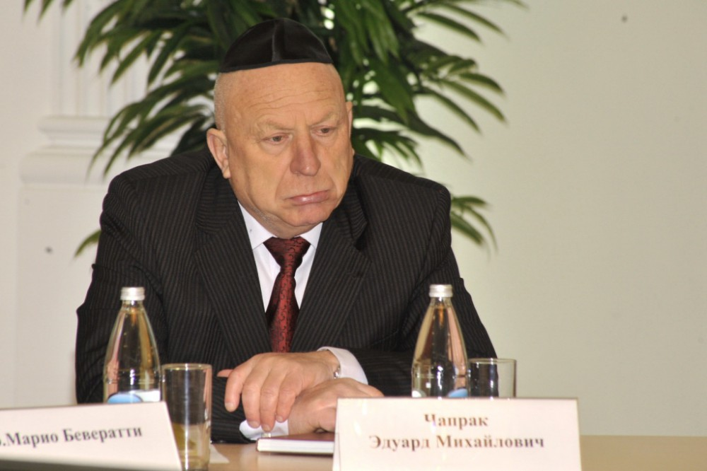 Председатель еврейской общины Нижегородской области Эдуард Чапрак
