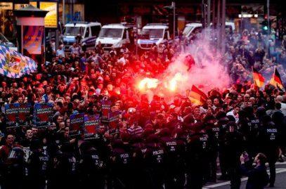 Националисты учинили побоище после убийства в Хемнице