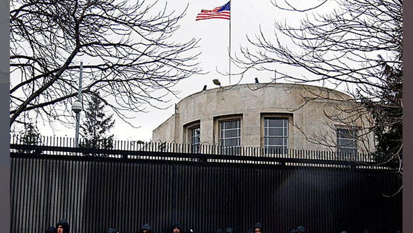 Посольство США в Анкаре подверглось обстрелу