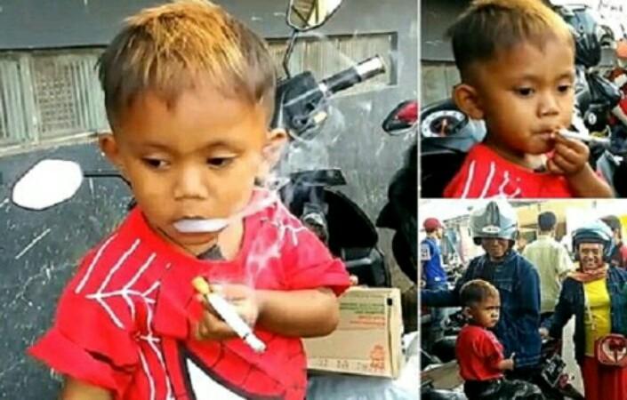 В мусульманской стране нашли способ отвадить малыша от недетской забавы