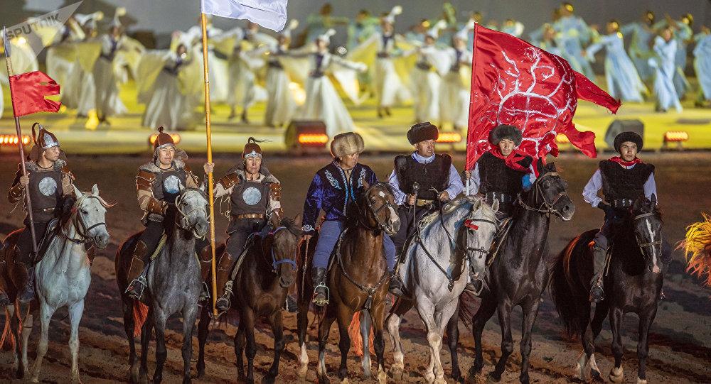 Российские спортсмены произвели фурор на Всемирных играх кочевников