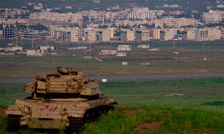 Российские военные проверили район около оккупированной Израилем местности