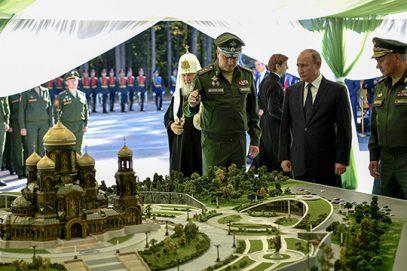 Минобороны заложило огромный православный храм для патриотов