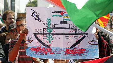 """Израильтяне обогатятся на """"Флотилии свободы Газе"""""""