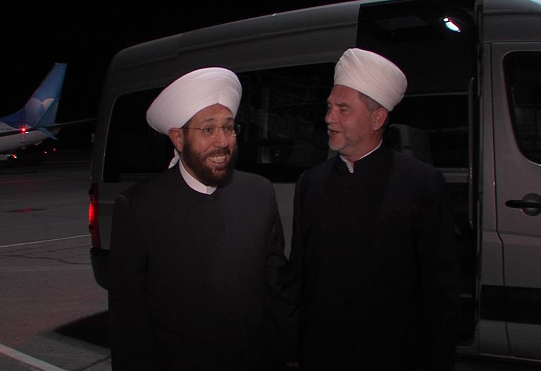 Муфтий Сирии совершил ответный визит на север России