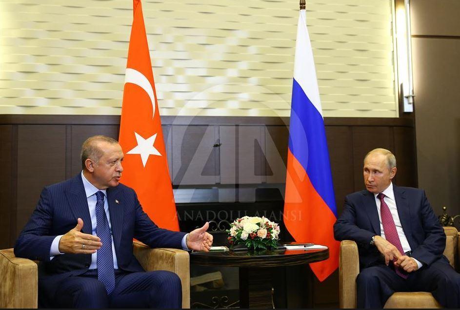 Путин и Эрдоган встретились один на один