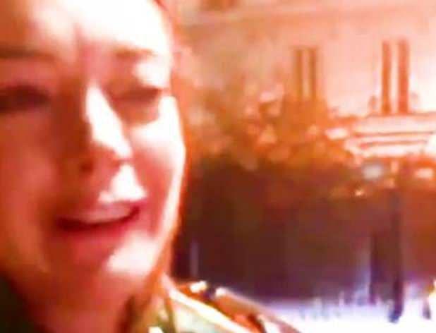Линдси Лохан поплатилась за приставания к сирийским беженцам (ВИДЕО)