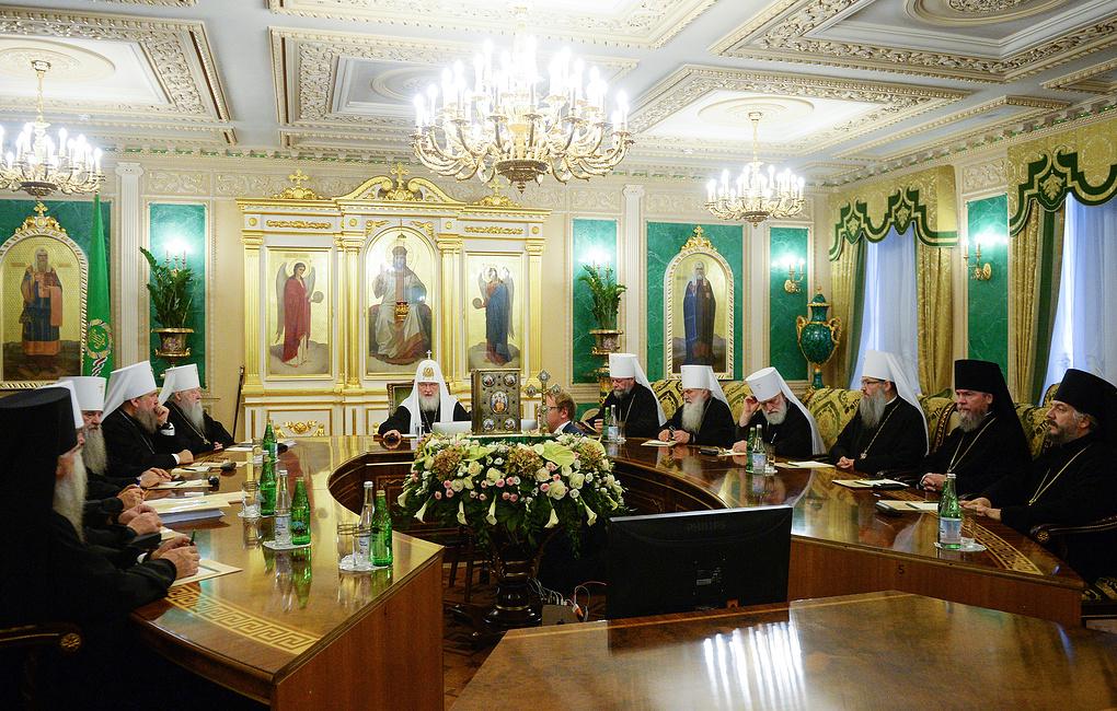 Собрание вел патриарх Кирилл