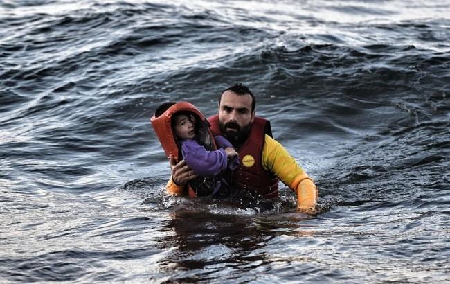 ООН раскрыла жуткий процент беженцев, умирающих на пути в Европу