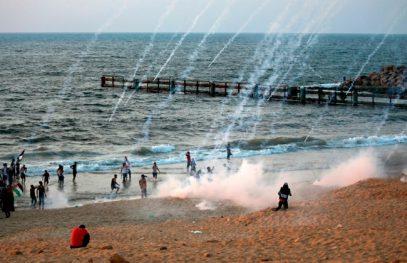 Израильские силовики расстреляли палестинцев на пляже Газы