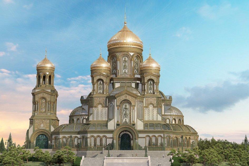 Церковь и государство. Минобороны РФ построит гигантский православный храм