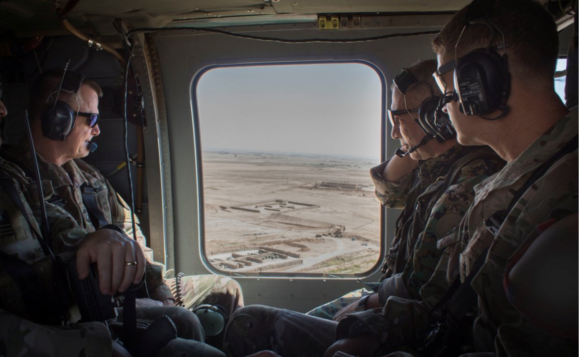 Пентагон демонстрирует России свои мускулы в Сирии