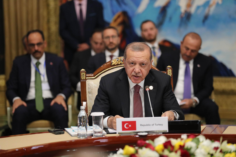 Выступление Эрдогана. Фото: Анадолу